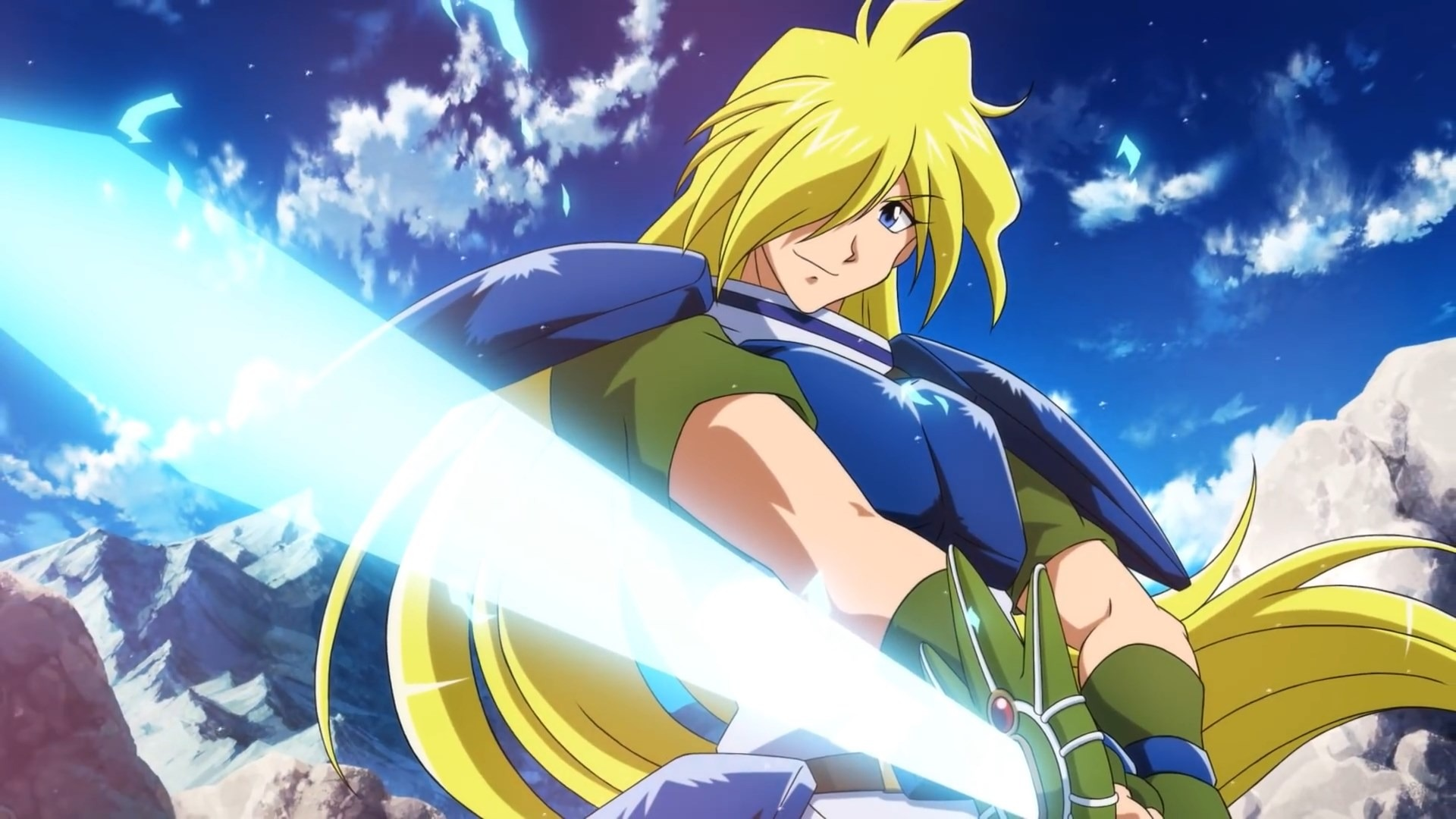 Gourry Gabriev of Slayers - a common sight in anime club