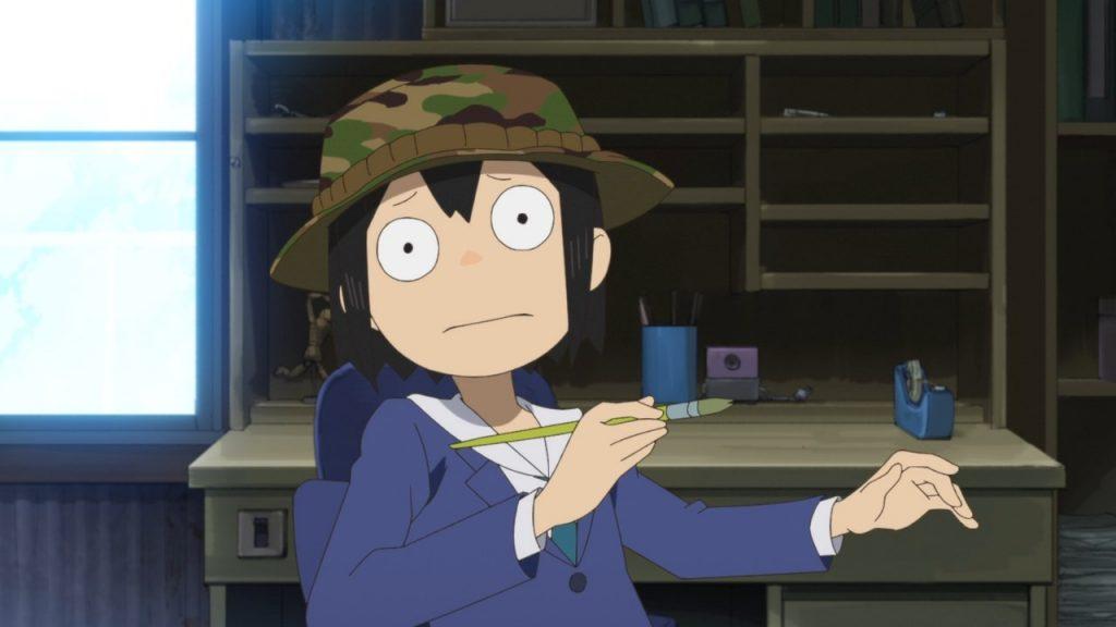 Midori Asakusa has anxiety.