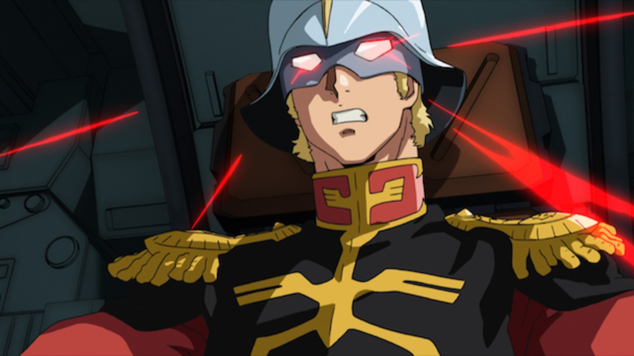 Char Aznable goes three times as fast!