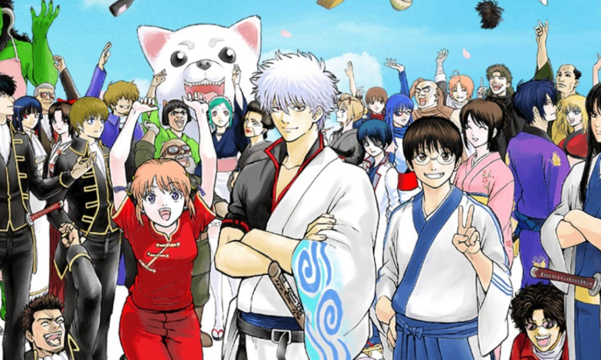 Brave that long recommendation... like Gintama!