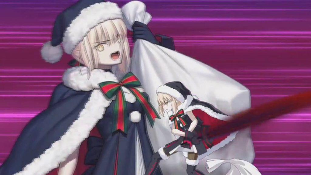 Fate/Grand Order has its share of heroic Santas!