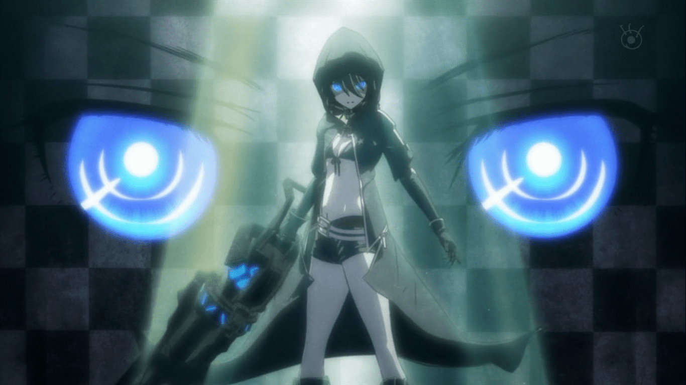 Anime swordswomen like Black Rock Shooter look amazing while they fight!