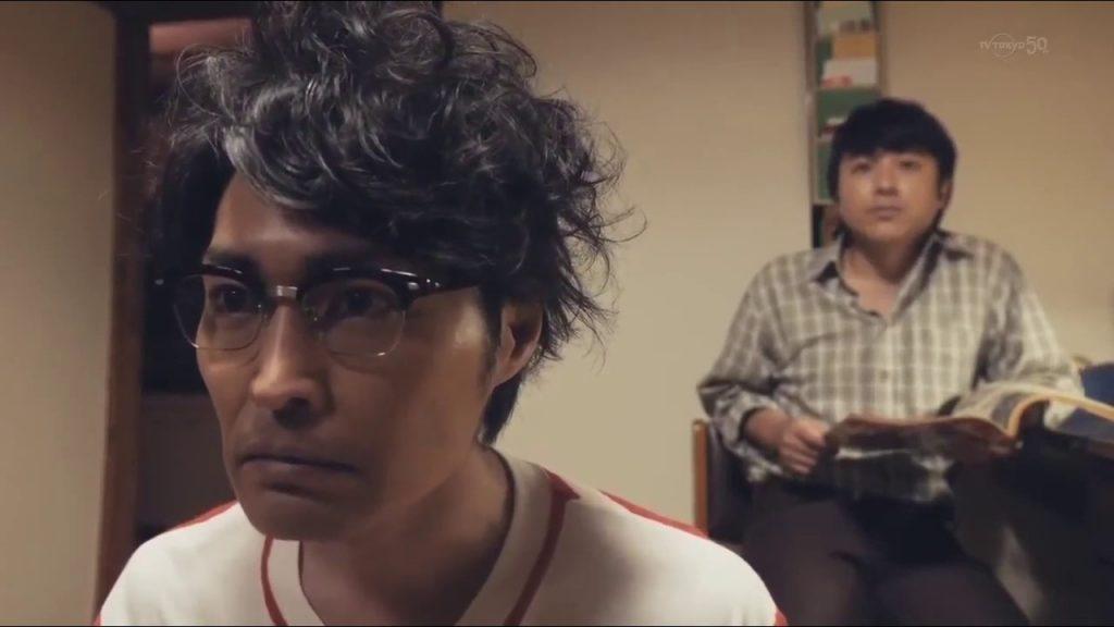 Ken Yasuda as Hideaki Anno in Blue Blazes