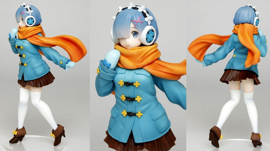 Taito Winter Version Prize Rem Figure