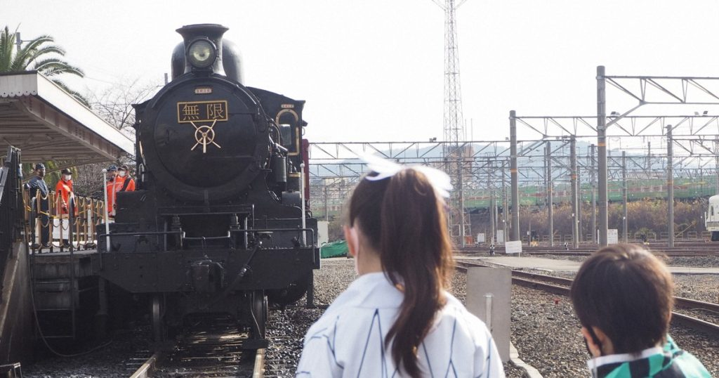 Japanese Event Lets You Ride the Demon Slayer Movie Train