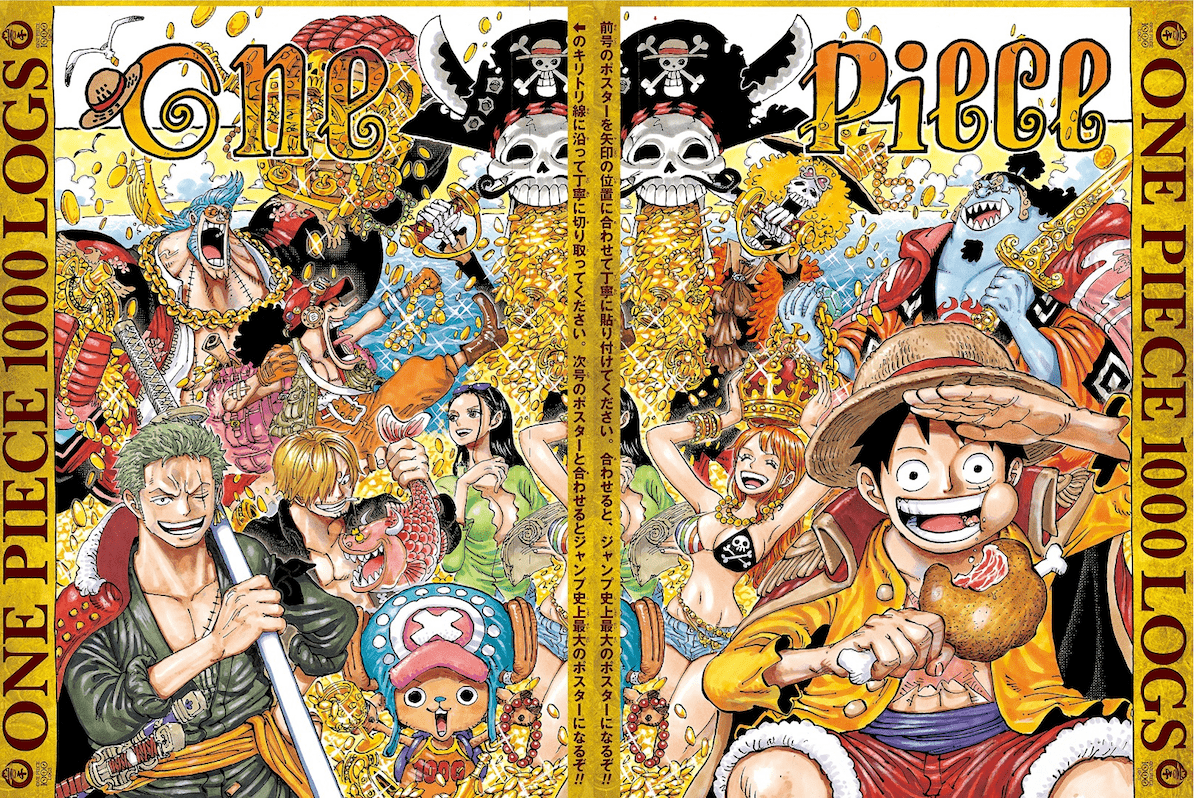 one piece 1000th chapter