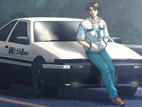 YouTube Channel Streams Eurobeat with Initial D Footage 24/7