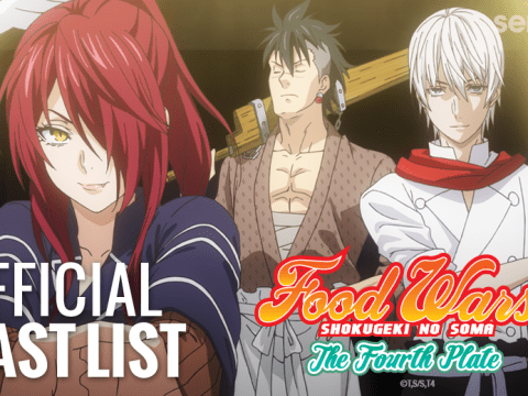 Sentai Reveals Dubbed Sneak Peek of Food Wars! The Fourth Plate