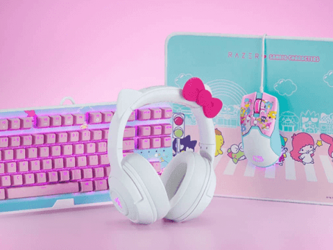 The Razer x Hello Kitty and Friends Collection Makes Gaming Adorable