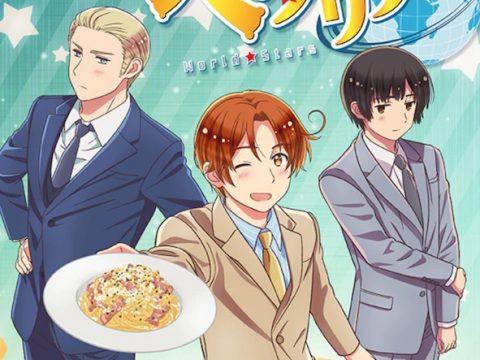 Hetalia World Stars Anime Welcomes Five More Cast Members Back
