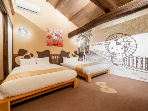 Kyoto Hotel Offers Hello Kitty Room in Traditional Edo Period Structure
