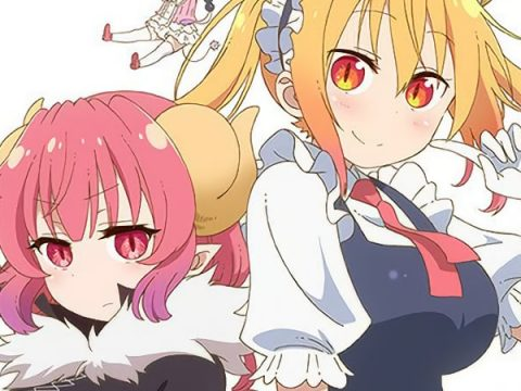 Miss Kobayashi's Dragon Maid S Set for July