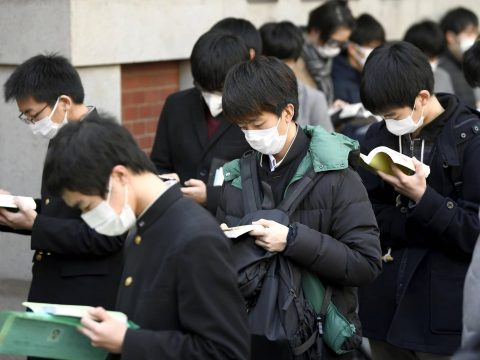 Tokyo Student Thrown Out of Test For Not Wearing Mask Right