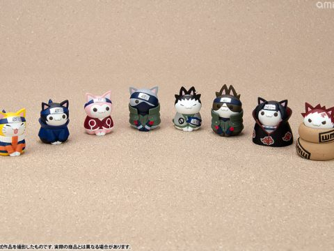 Naruto Extended Cast Gets Kitty Makeovers from AmiAmi
