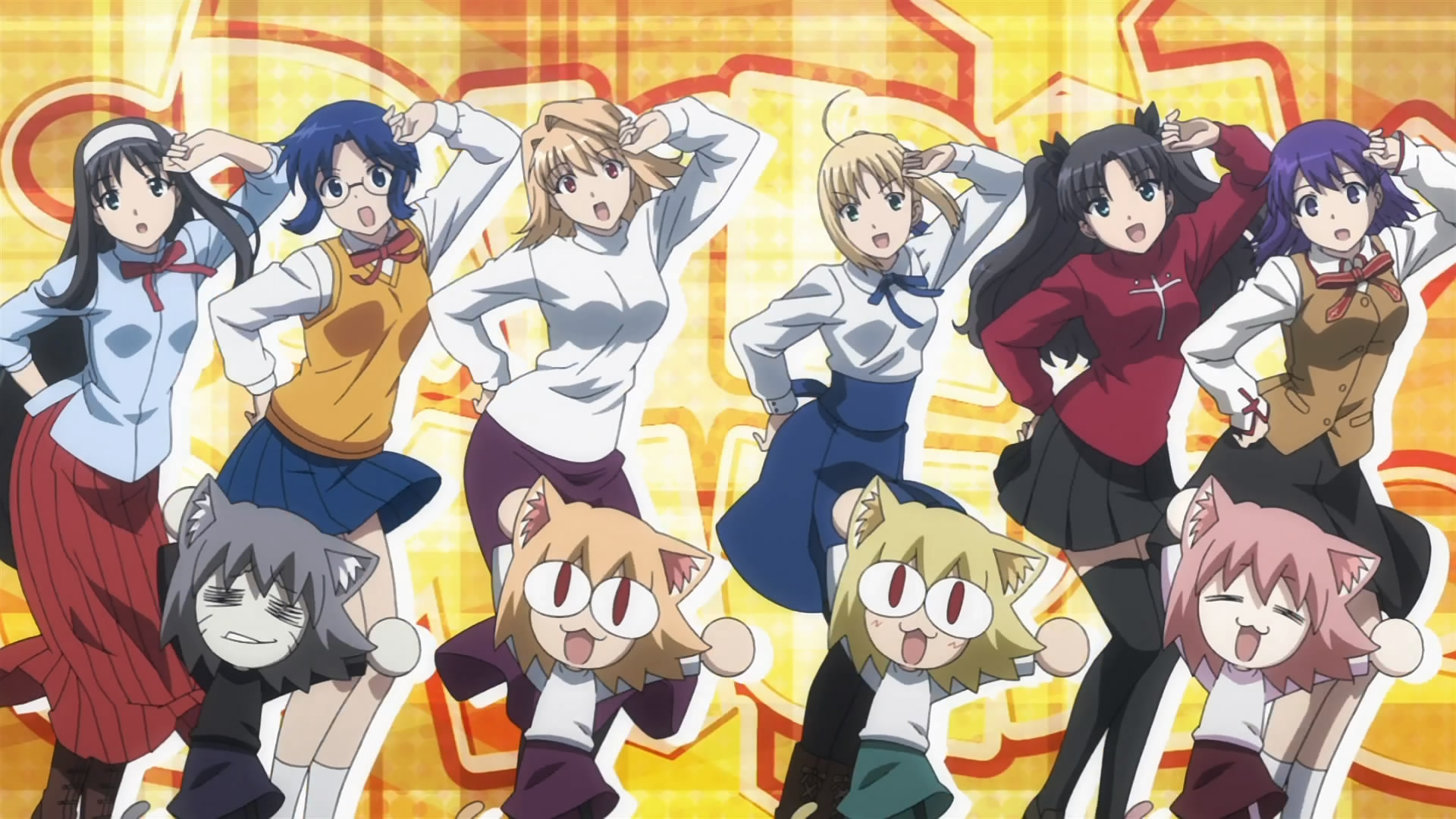 Anime Crossovers like Carnival Phantasm are more prevalent than you think!