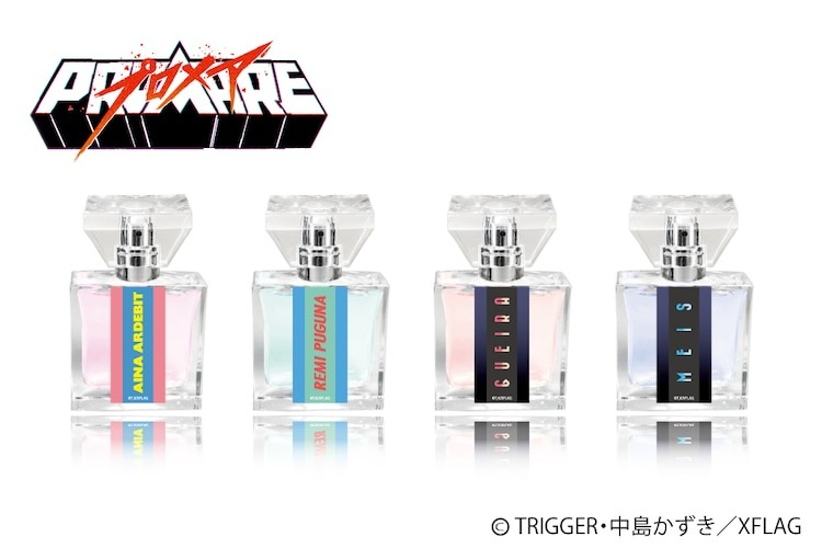 Promare Gets New Line of Character-Based Perfumes