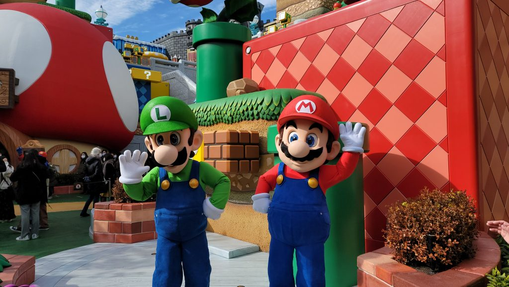 We Got An Early Peek at Japan's Super Nintendo World