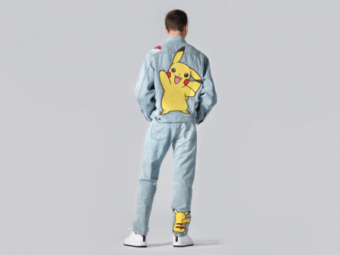 Get Your 90s Nostalgia on With Pokémon Levi Jeans
