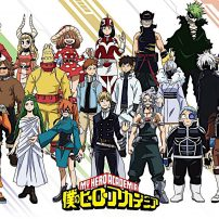 My Hero Academia Visual Shows Off Class 1-B's Hero Suits