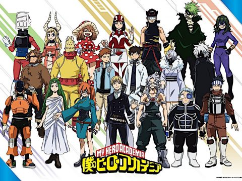 My Hero Academia Visual Shows Off Class 1-B's Hero Suits
