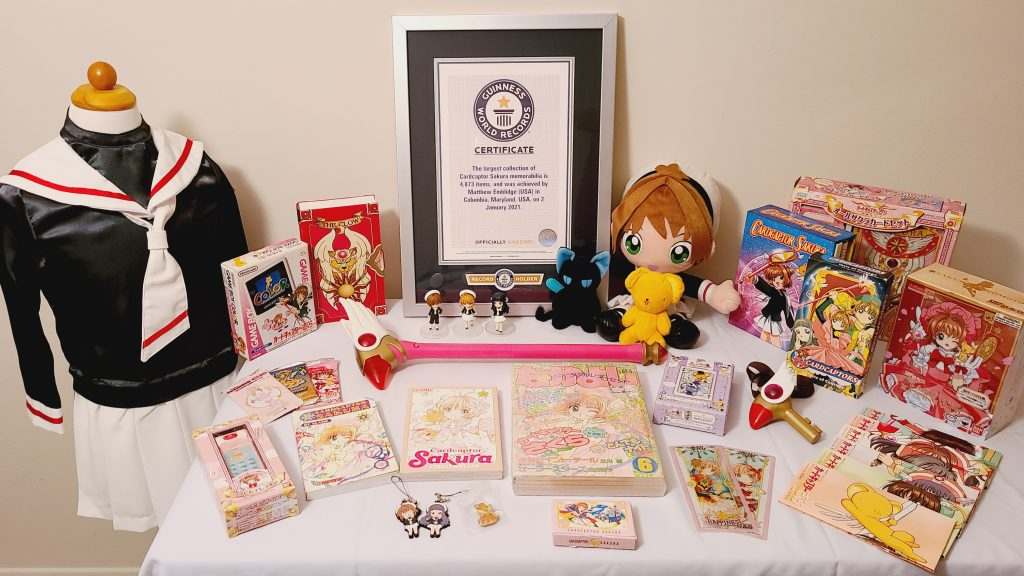 Maryland Man Gets Guinness World Record For Cardcaptor Sakura Collection