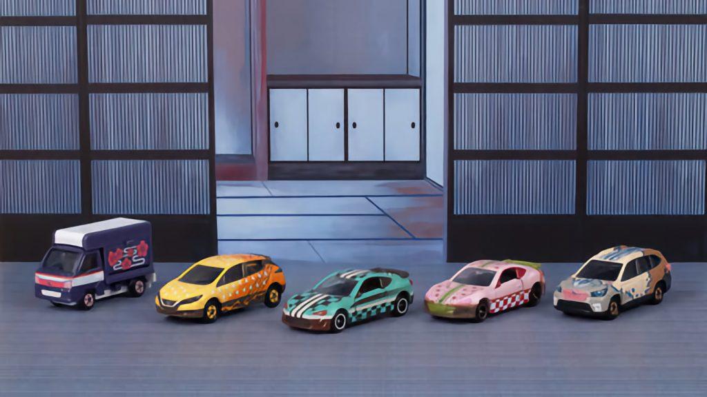 Demon Slayer Inspires Line of Die-Cast Toy Cars