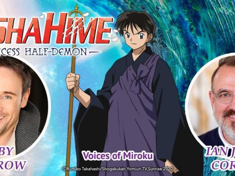 Ian James Corlett Will Play Miroku in Yasahime: Princess Half-Demon