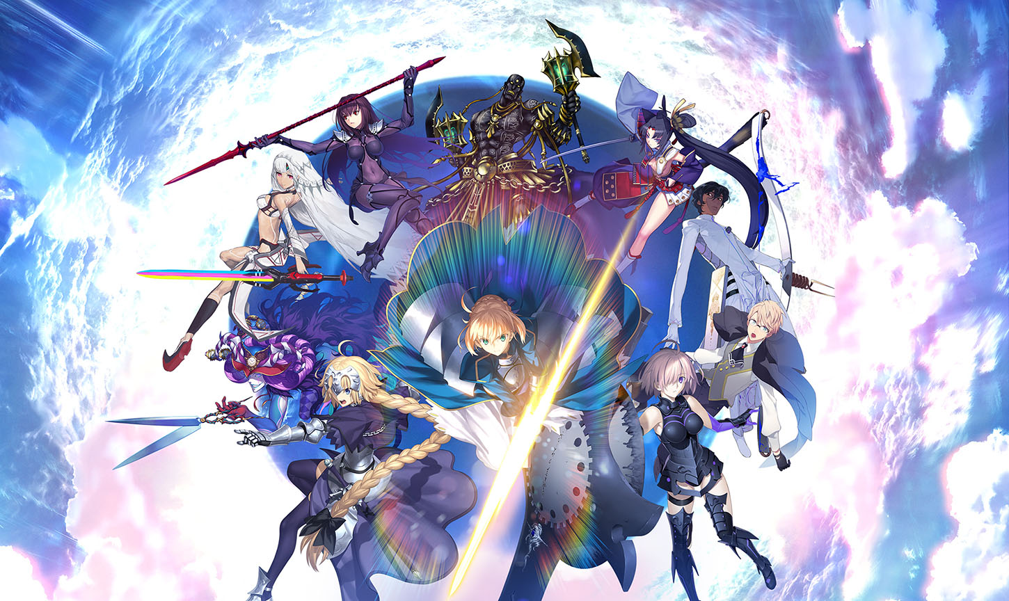 Fate/Grand Order... yes, really!