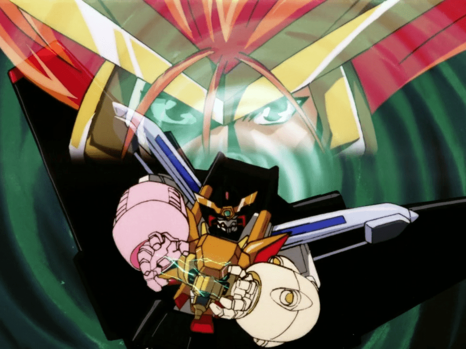 These anime cyborg heroes are seriously cool