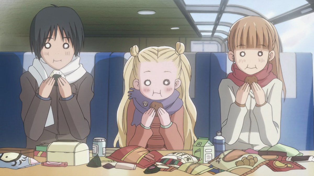 The cast of Honey and Clover