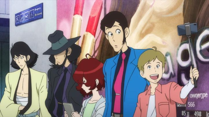 Lupin and Jigen in the 21st century