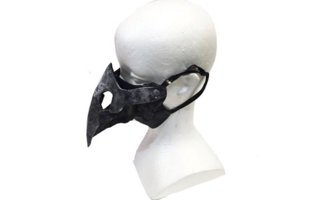 Japanese Company Comes Out with Plague Doctor Masks