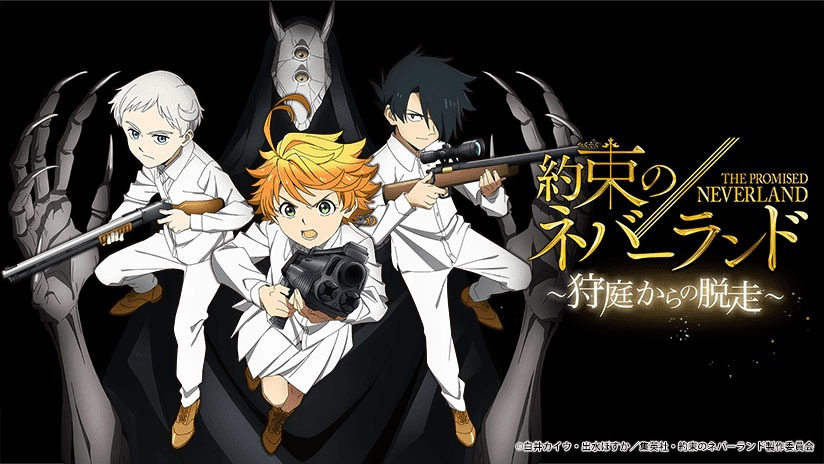 Escape the Hunting Grounds in The Promised Neverland Mobile Game