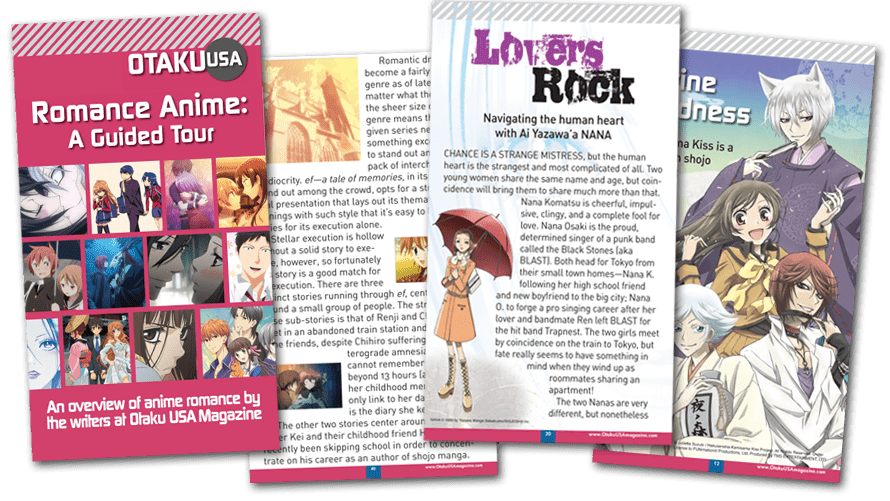 Love is in the Air in Otaku USA's Free Romance Anime Guide!