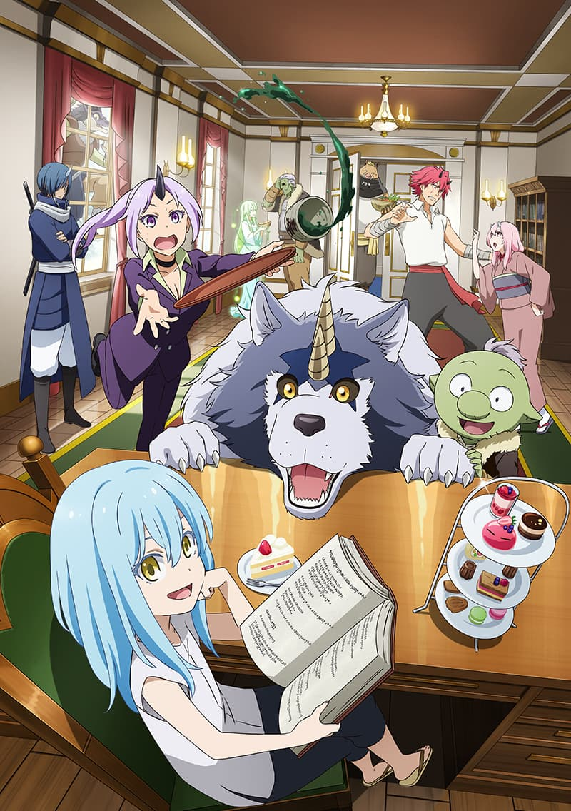 slime diaries anime