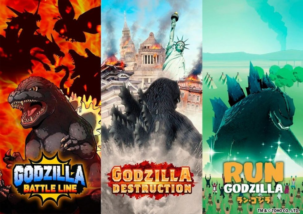 Raise Godzilla or Destroy Cities with Him in These New Games