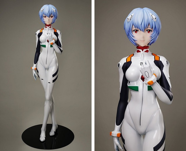 A Life-Size Rei Ayanami Model Is Being Made
