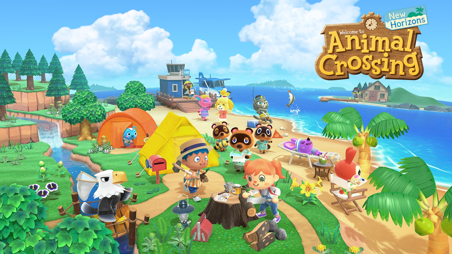 Animal Crossing: New Horizons is a year old! Oh no!