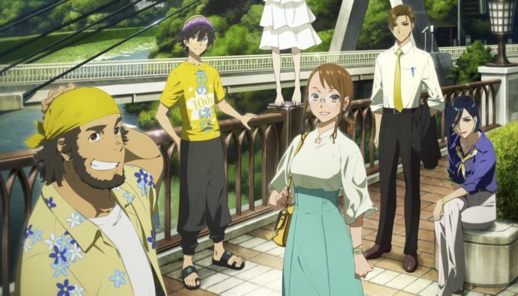 Anohana Anime Returns with Visual Featuring Aged-Up Characters
