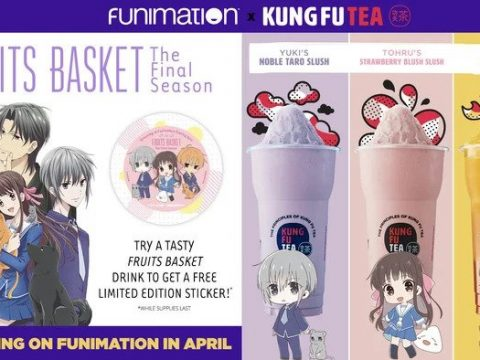 Kung Fu Tea Offering Fruits Basket Drinks Next Month in America