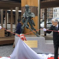 Attack on Titan Creator's Hometown Unveils Levi Statue