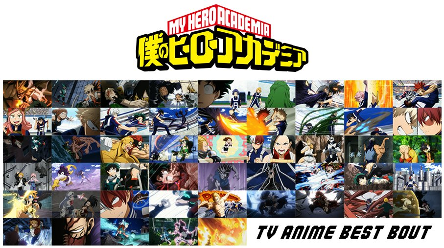 """My Hero Academia to Have Poll for """"Best Bout"""""""