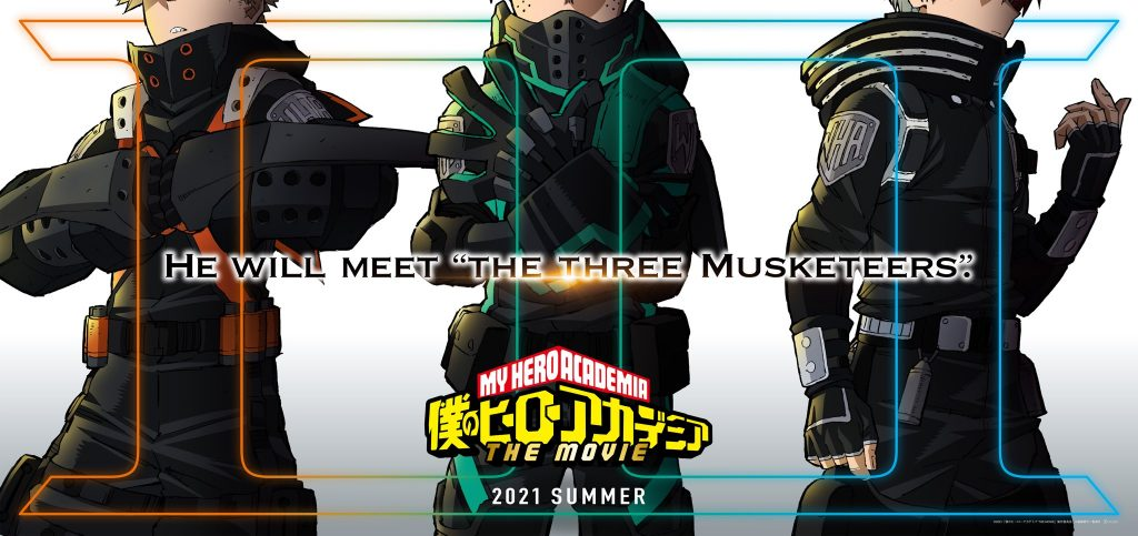 Third My Hero Academia Movie Gets Full Title, Release Date, and Trailer