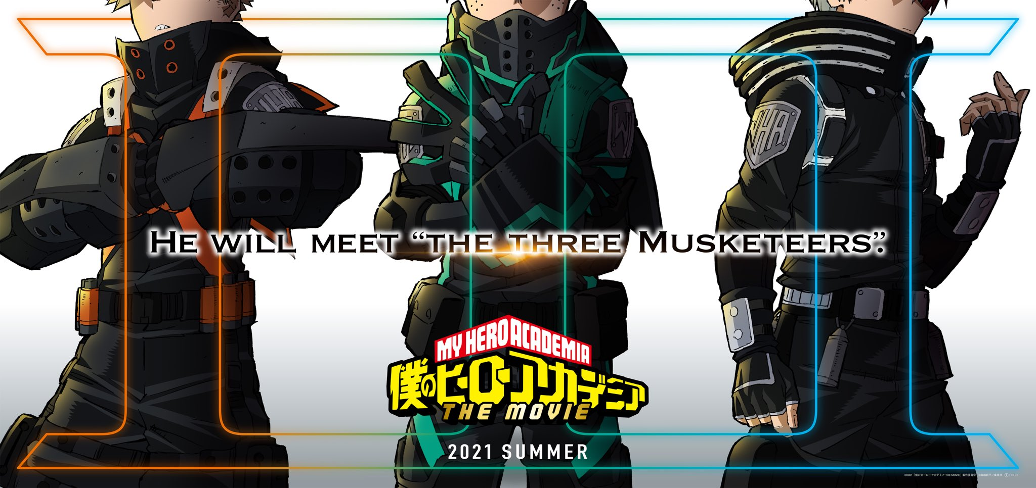 third my hero academia movie