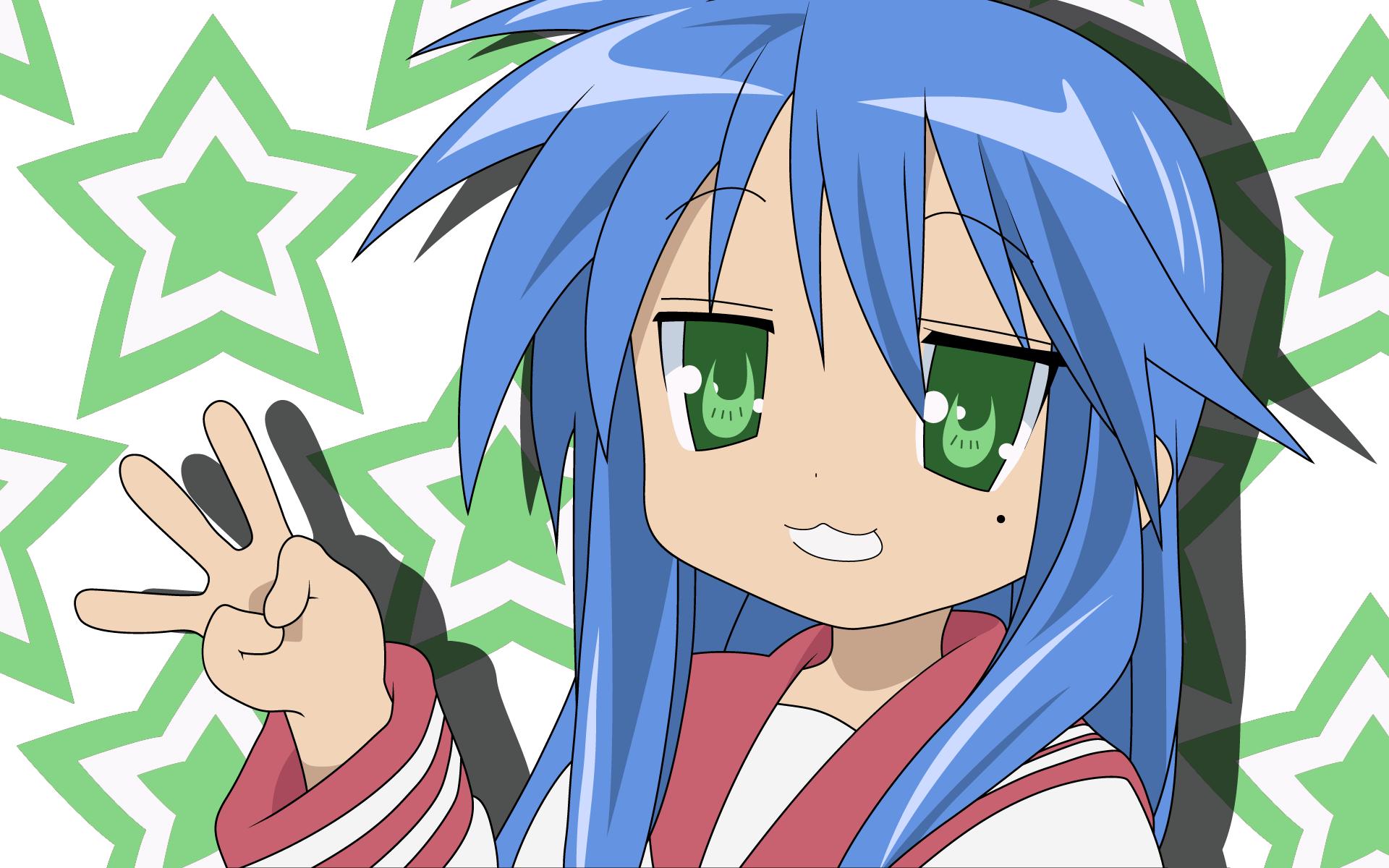 Konata Izumi, fangirl prime