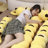 Pikachu Takes on Bizarre New Form in Caterpillar Plushie