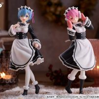 Re:ZERO's Rem and Ram Bust Out Winter Maid Gear in New Figures
