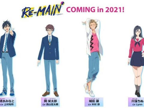 MAPPA, Tiger and Bunny Writer Coming out with RE-MAIN Anime