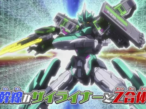 Shinkalion Z Anime Pulls Off a Mighty Transformation in Full Trailer
