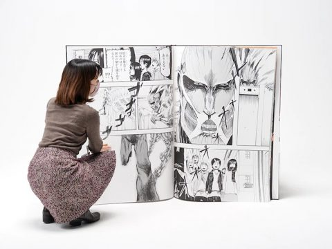 Record-Breaking, Giant Attack on Titan Manga Sold Out in Two Minutes